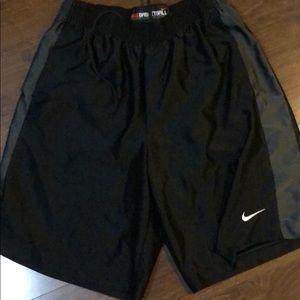 Nike basketball shorts with pockets